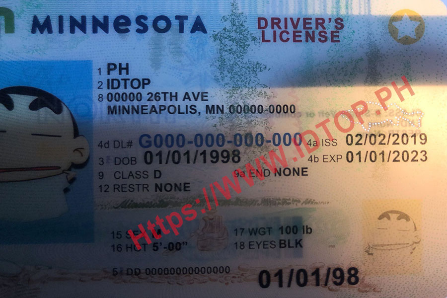 FAKE ID MINNESOTA