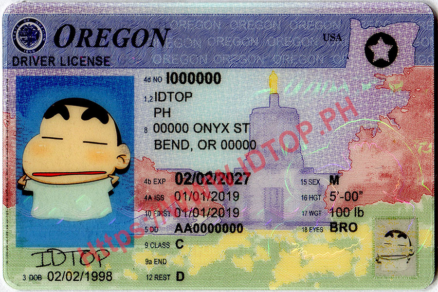 FAKE ID OREGON
